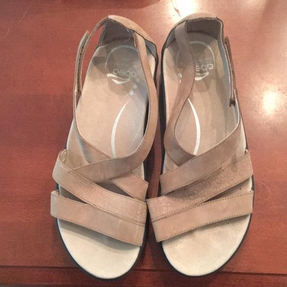 4e363d0c81 Abeo Shoes | By The Walking Company Sz 8 M Taupe Sandal | Poshmark